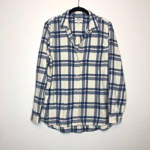 Madewell Classic Ex Boyfriend Button Up Size L